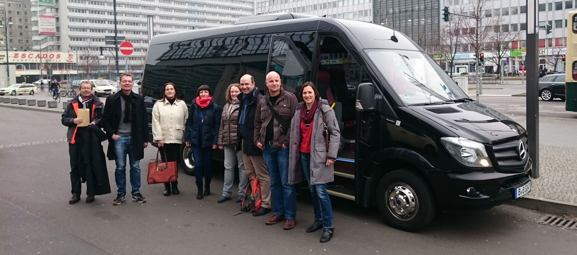 group on a private tour in berlin